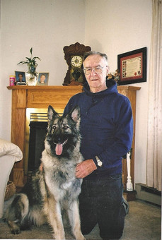 Skye and my Dad.