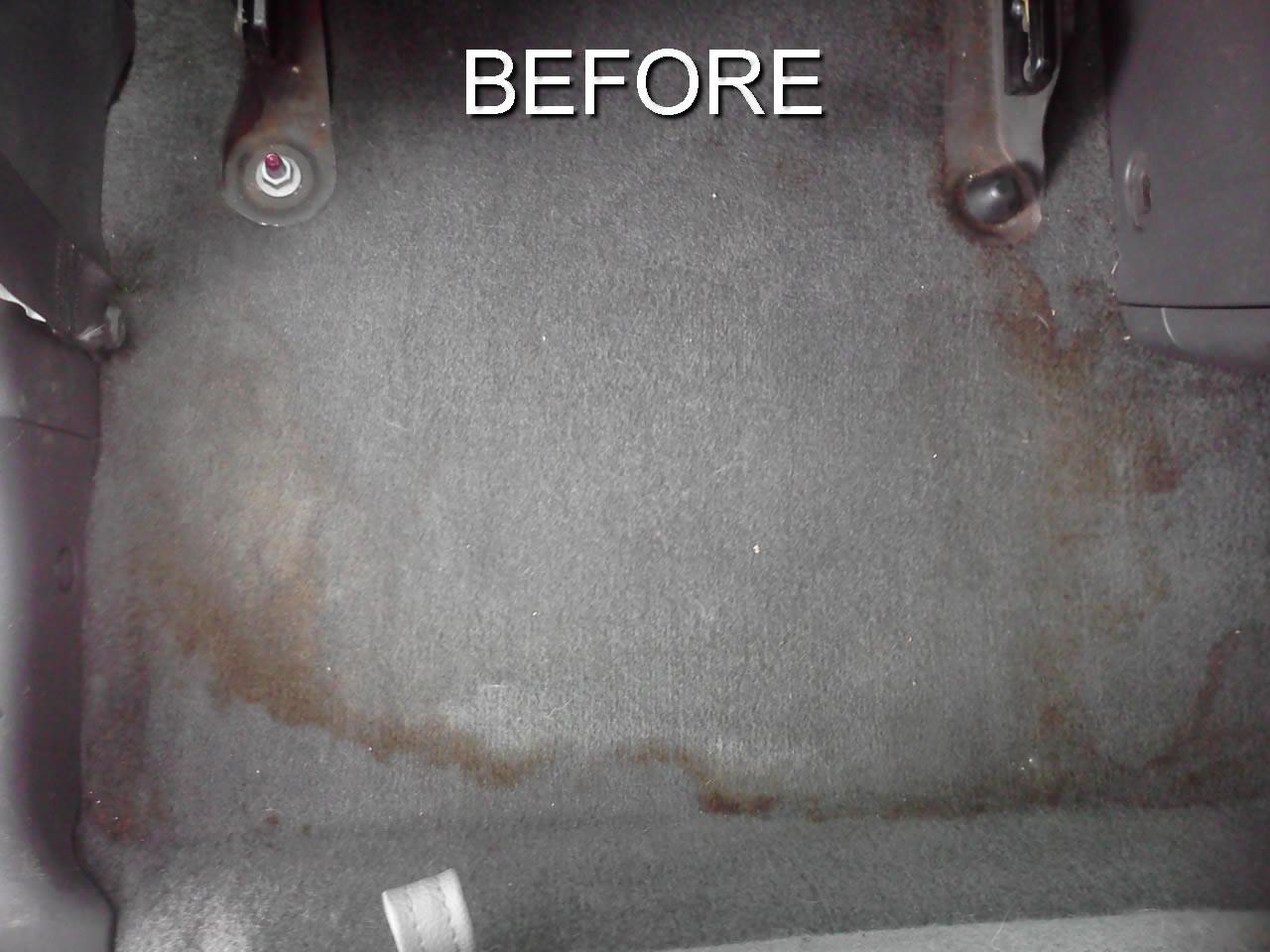 Interior Detailing-Before