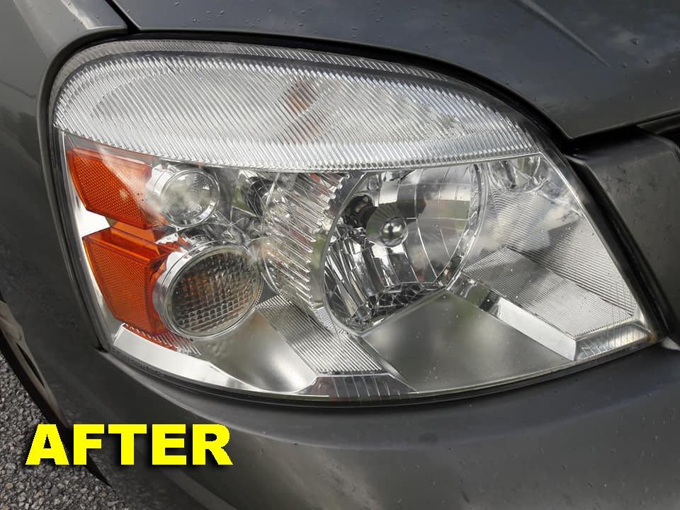 Headlight Restoration-After