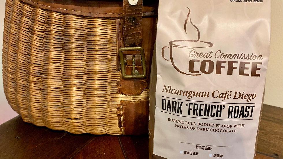 Nicaraguan Café Diego Chavarria | Dark (French) Roast