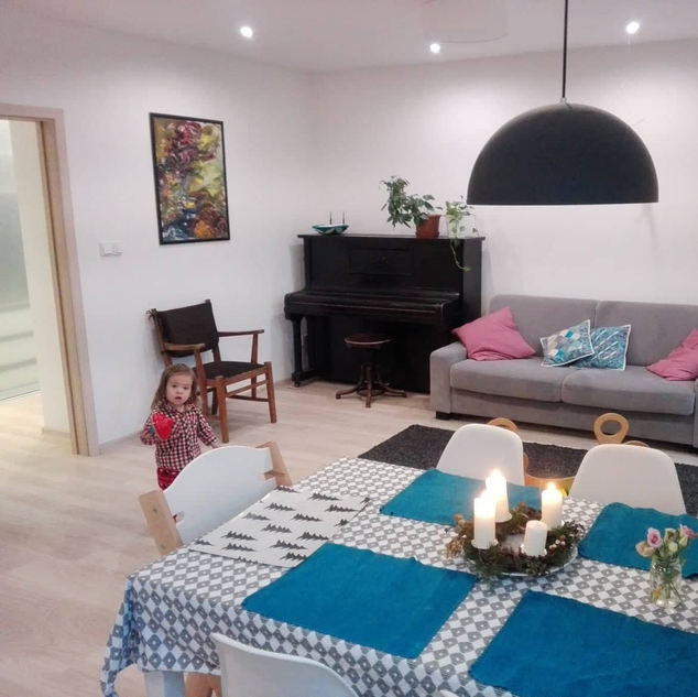 Obývací pokoj - po