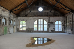 Transfer of Gallery Puddle into Gallery Hlubina