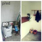 Předsíň - před a po
