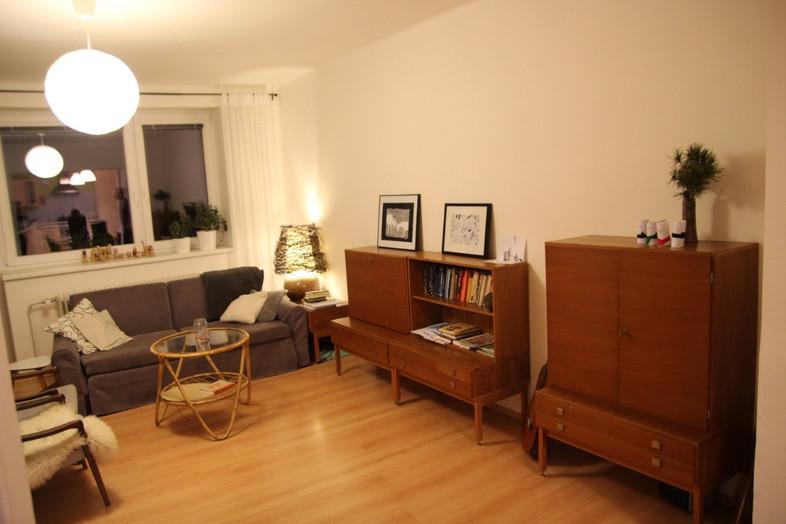 obývací pokoj - před