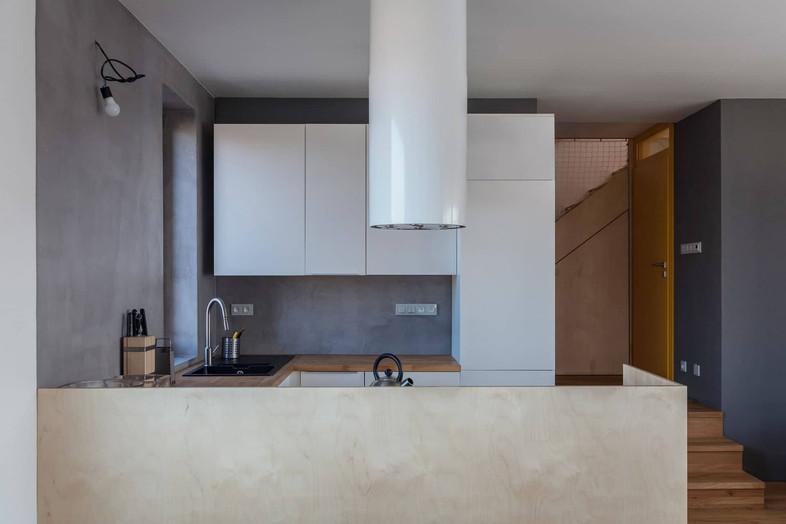 kuchyň - vkusná, minimalistická, praktická