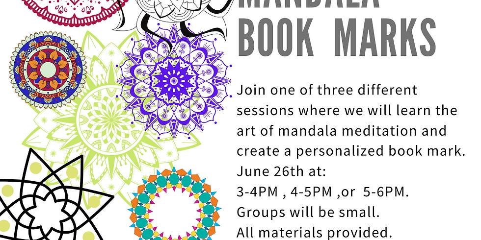 Mandala Book Marks
