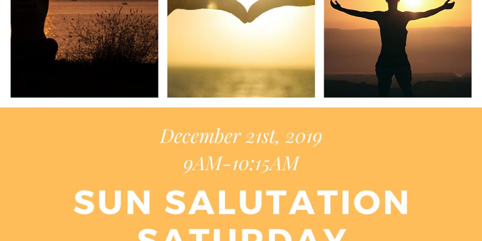 Sun Salutation Saturday