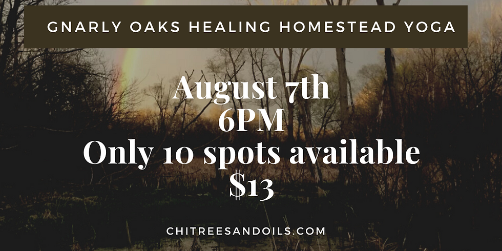 Gnarly Oaks Healing Homestead Yoga