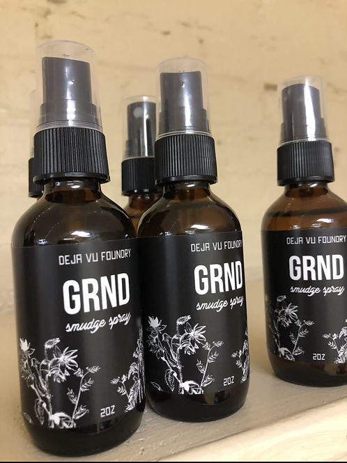 GRND Grounding Smudge Spray for Introverts