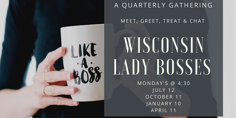 Lady Bosses Meet, Greet, Treat and Chat