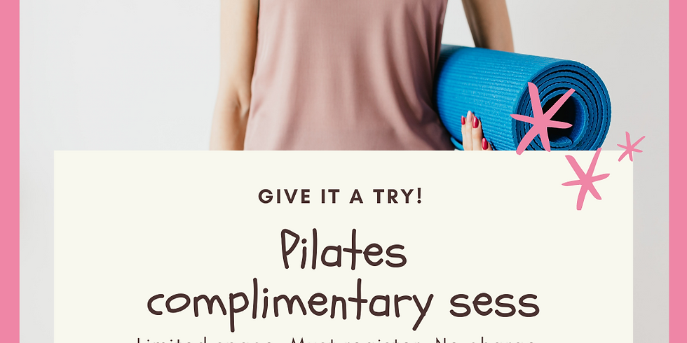 Pilates Complimentary Session