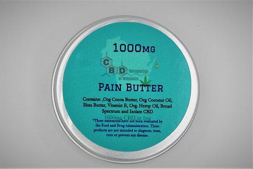 1000mg CBD Pain Butter