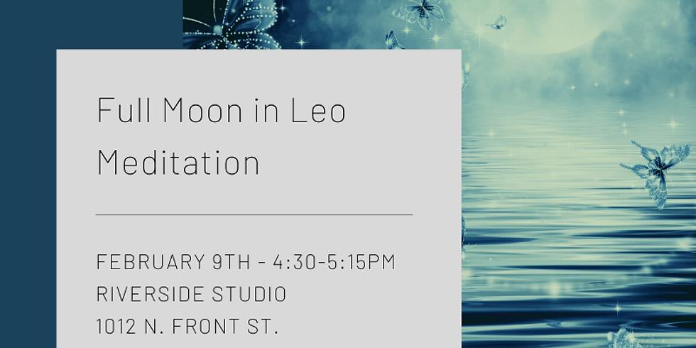 Full Moon in Leo Meditation