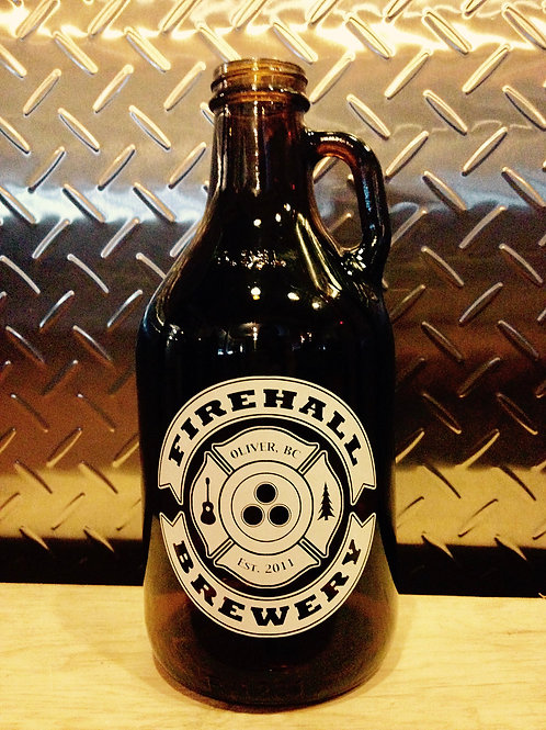 32oz Glass Growler