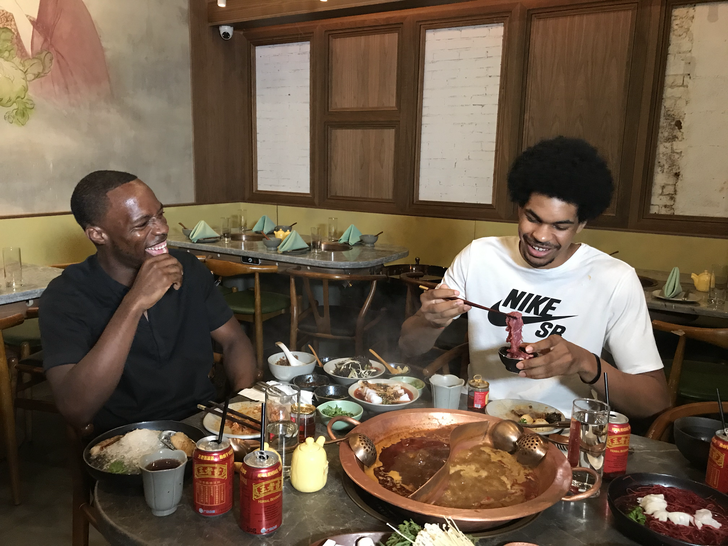 Hot Pot with Jarrett Allen