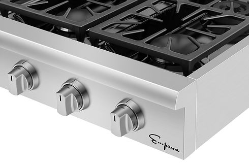 Empava pro-style cooktop