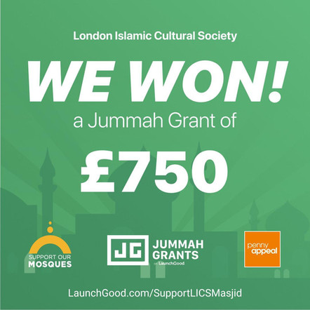Jummah Grant £750