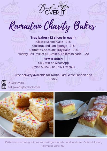 Ramadan Charity Bakes