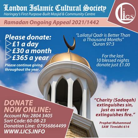 Ramadan Ongoing Appeal 2021/1442