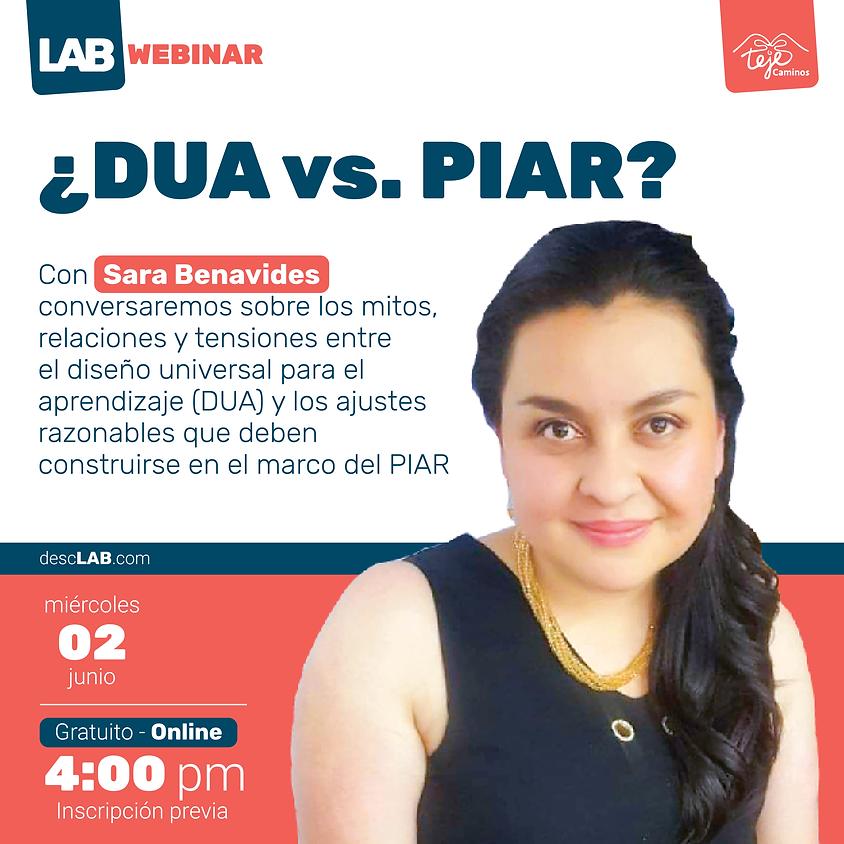 Webinar   ¿DUA vs. PIAR?