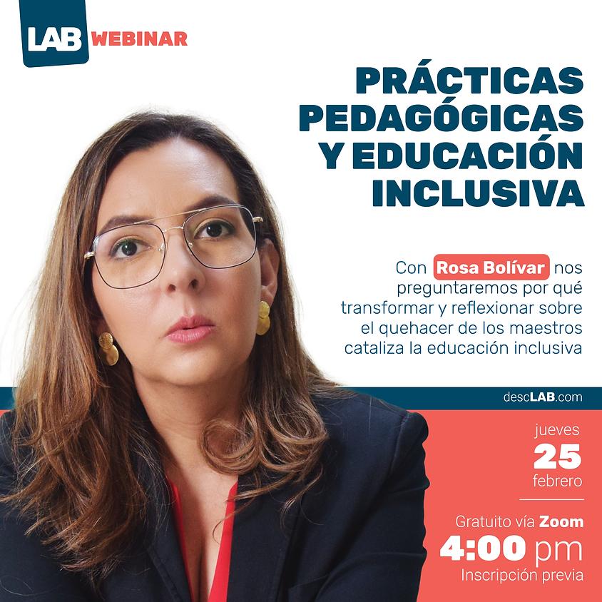 Webinar | Prácticas pedagógicas y educación inclusiva