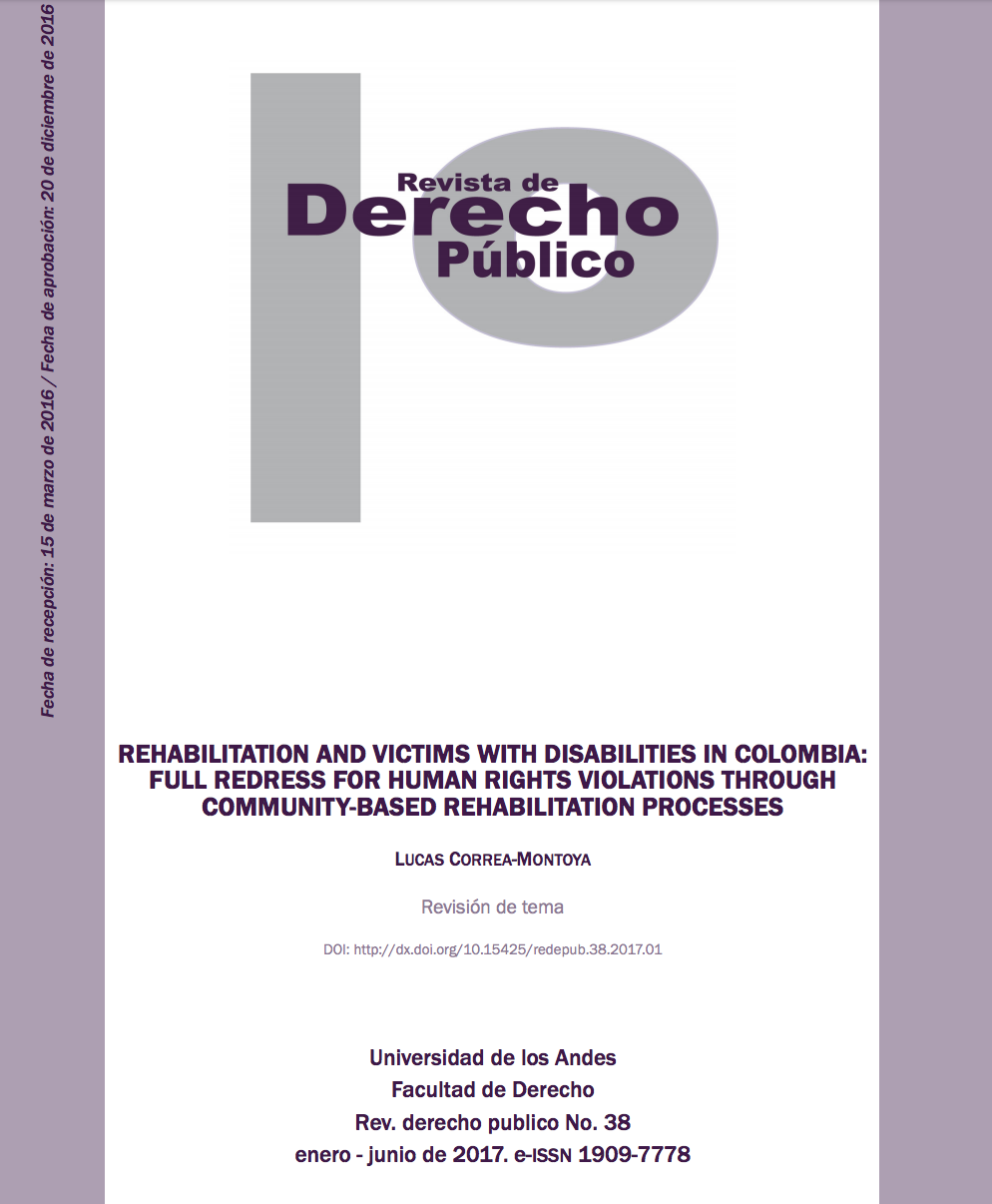 Revista Derecho Publico