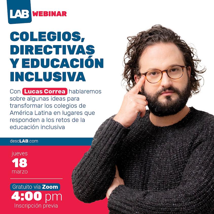 Webinar | Colegios, directivas y educación inclusiva