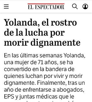 Portada El Espectador Yolanda.jpeg