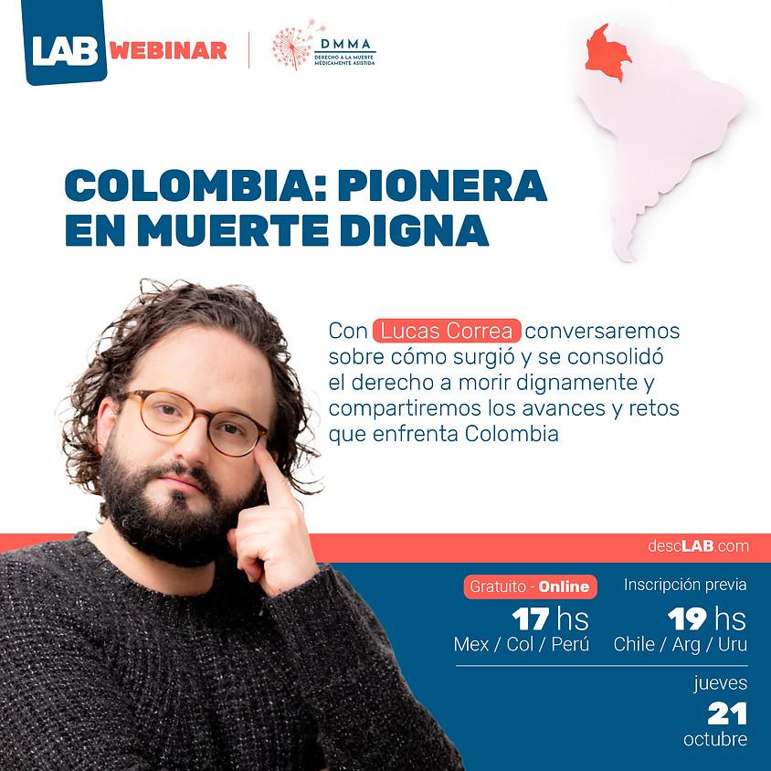 Webinar   Colombia: pionera en muerte digna