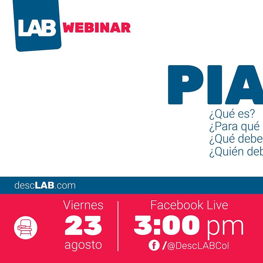 DescLAB Webinar   PIAR: qué es, para qué sirve y más