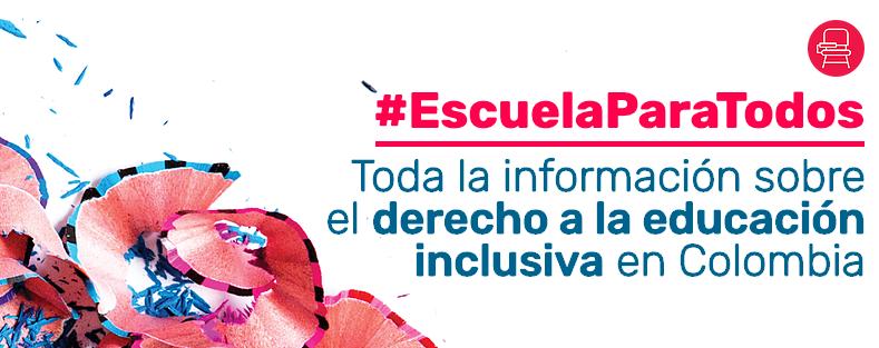 #EscuelaParaTodos - www.desclab.com/educacion-inclusiva
