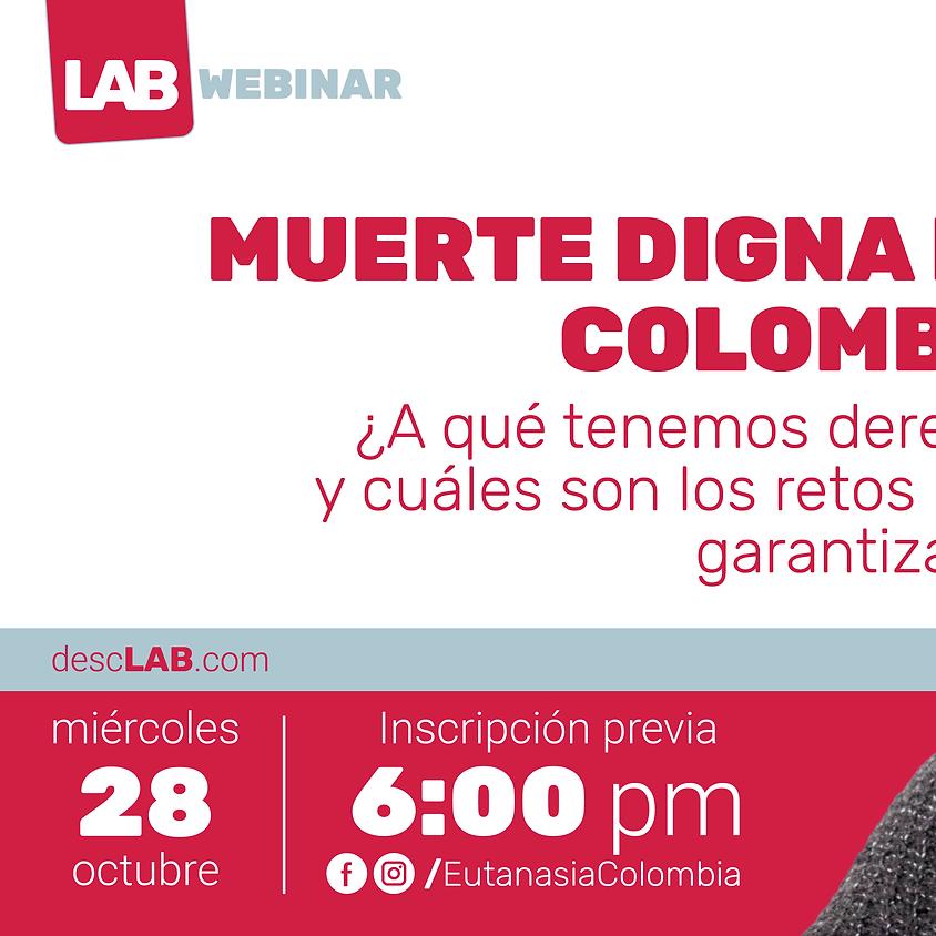 Webinar | Muerte digna en Colombia