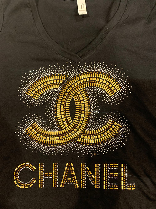 Chanel - Bling T-Shirt (Extended Sizes)