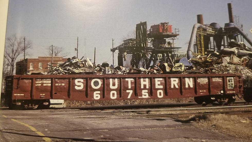 """Pullman Standard 52'6"""" Mill gondola, Southern Railway Series GB 60000-61499"""