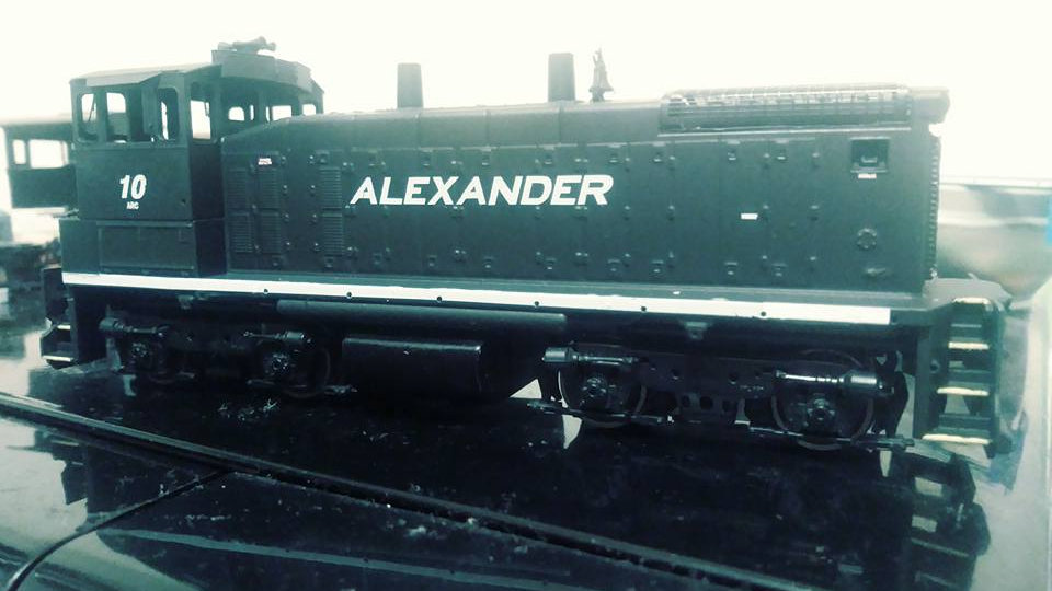 Alexander Railroad Company HO scale decals.  ARC-01
