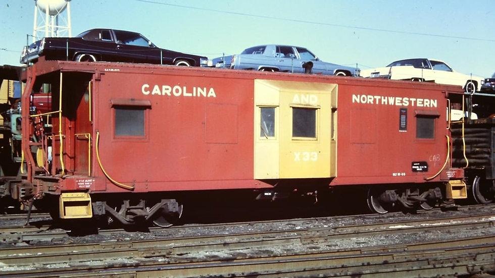 Southern Railway Rebuilt bay window caboose    Sou-03