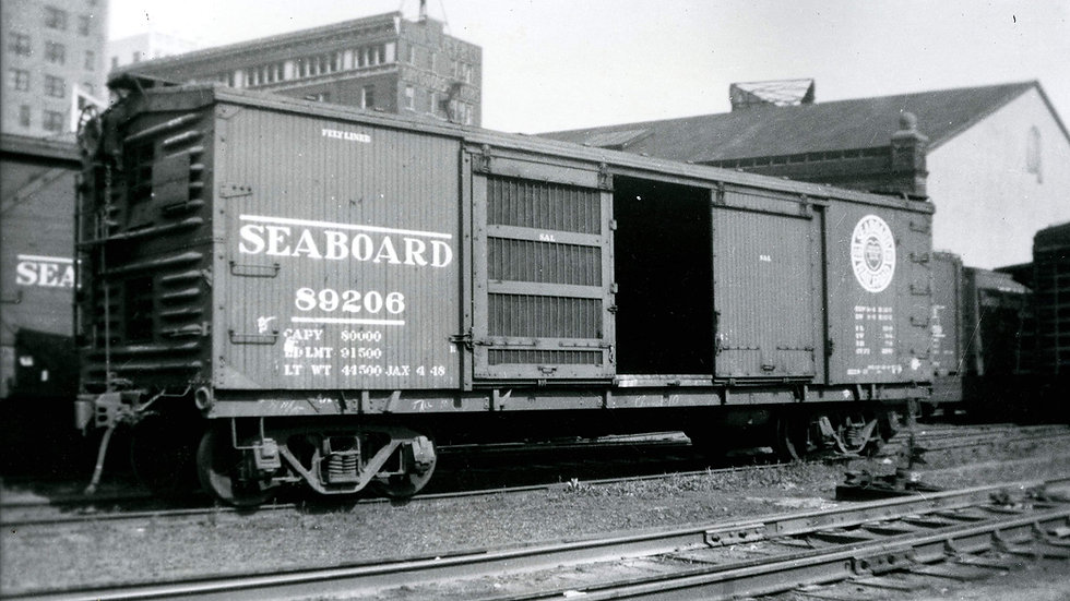 Seaboard Air Line V9 Ventilated Boxcar HO scale Kit SAL-1