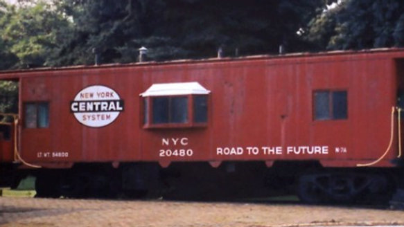 New York Central lot 782/ PC/CR N7 Bay Window Caboose.    NYC-01