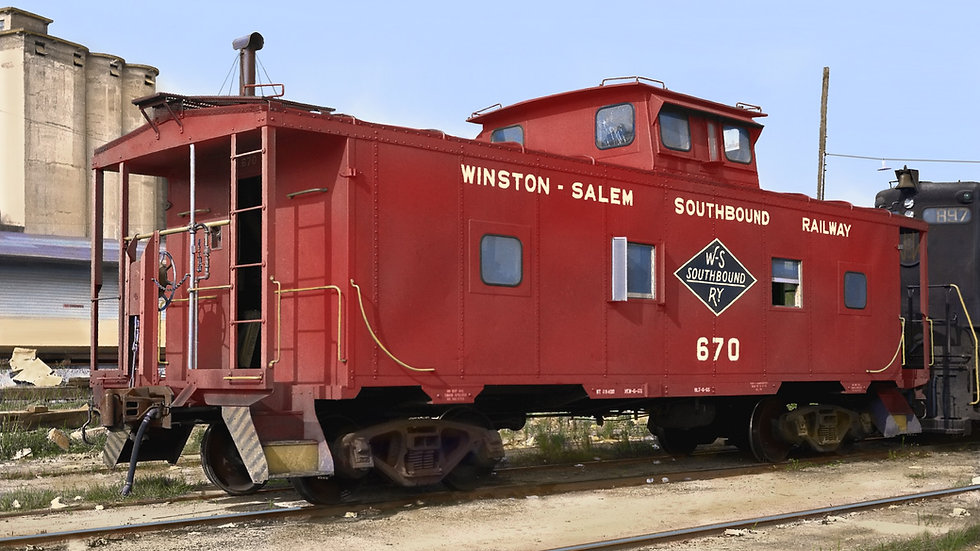 Atlantic Coast Line M5 Caboose  ACL-1