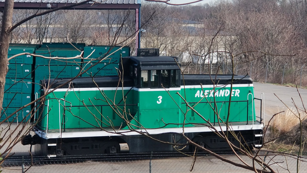Alexander Railroad Company N scale Decals.  ARC-02