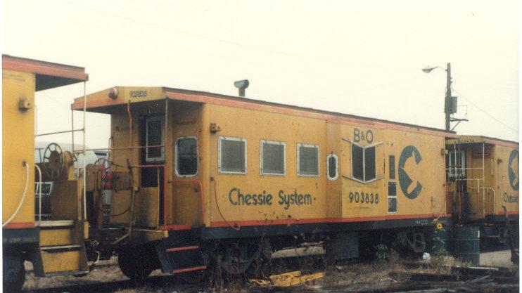 B&O/Chessie/CSX C26/26A/27/27A bay window caboose HO scale kit B&O-1