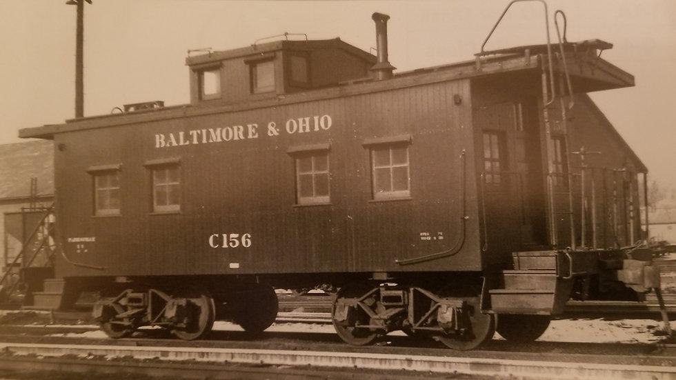 Baltimore and Ohio I-1/C-1.  B&O-01