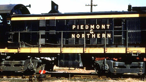 Piedmont and Northern locomotive Decals N scale.  P&N-2