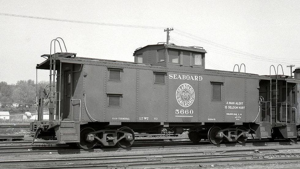 Seaboard Air Line 5600 series ICC caboose SAL-03