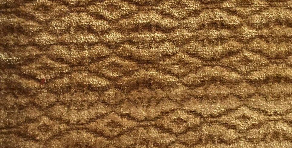 Gold  Solid - Textured Fabric