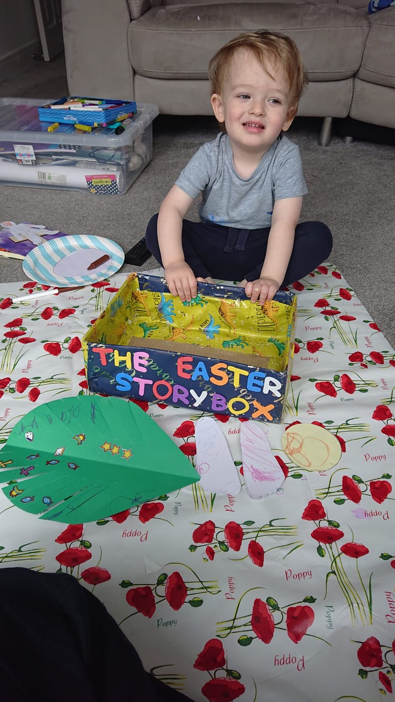 Easter Story Box