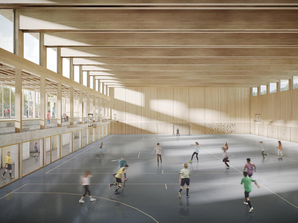 Wettbewerb Sporthalle mit Tagesstrukturen | Hausen am Albis