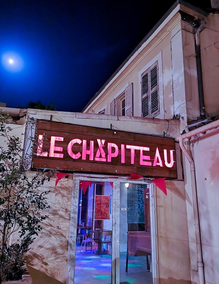 Le Chapiteau - Entrée intérieur