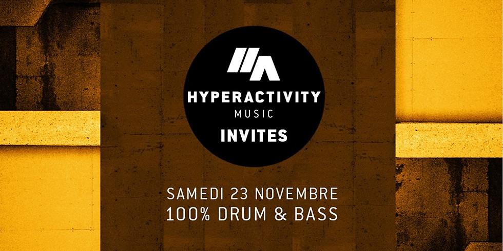 Hyperactivity Music - Invites : Mark Dinimal, Kuantum, BRK & Zaä