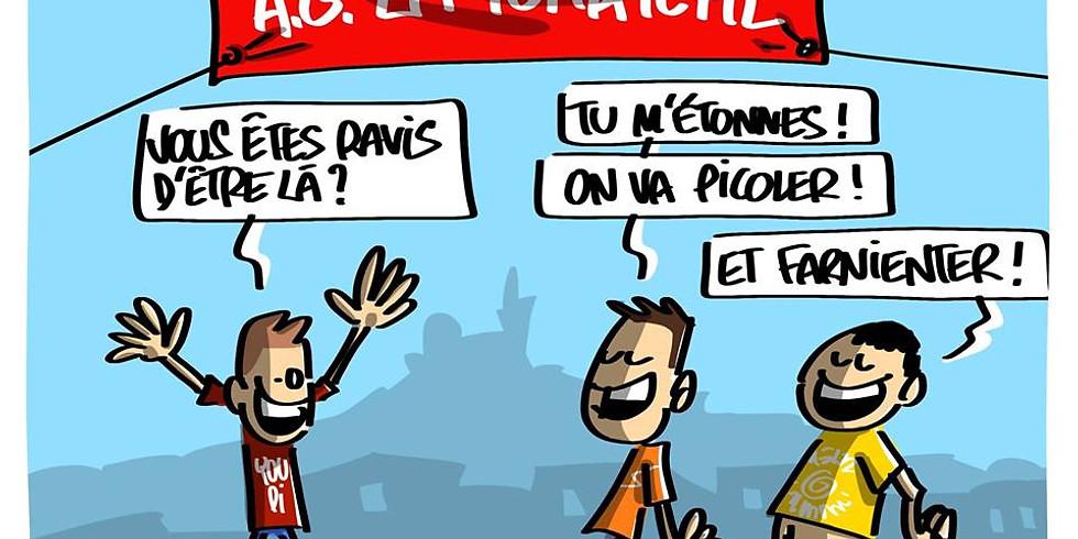 AG festive de la Tchatche (dessin, musique et débats)